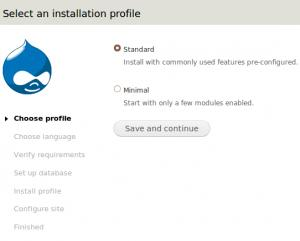 Howto install Drupal 7
