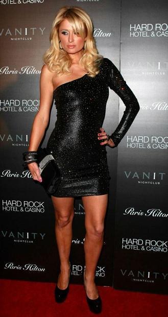 Paris Hilton célèbre l'ouverture de son nouveau Site !