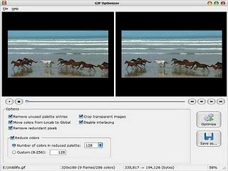 Gif optimizer - rduire le poids d'un gif anim