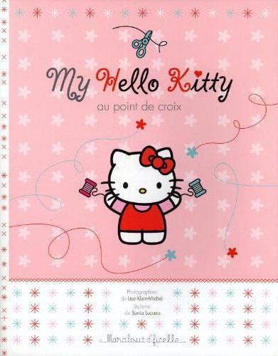 Livre créatif : My Hello Kitty au point de croix par Marabout