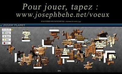 Les auteurs BD présentent leurs vœux : Joseph Béhé