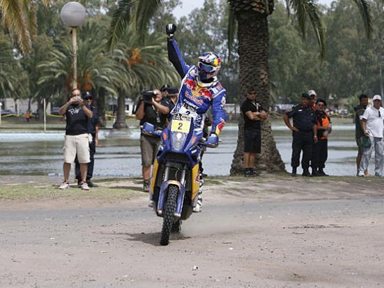 cyril21 Dakar 2010: Cyril Despres remporte la victoire en moto