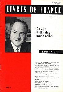 Livres de France Mai 1960