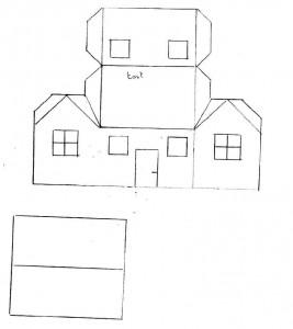 La maison en carton