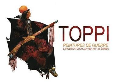 Exposition BD : Sergio Toppi chez Daniel Maghen à Paris