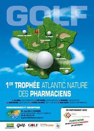 Affiche golf