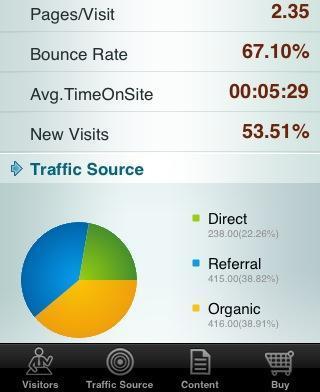 iPhone : Une application pour les webmasters