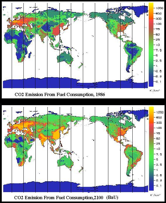 Complexification Carbonique