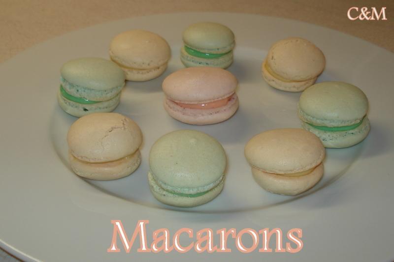 Macarons pastel