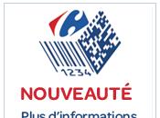 Carrefour s'essaye codes dans catalogues produits.