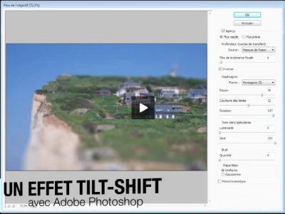 Technique : créer un effet tilt-shift