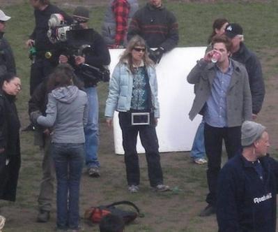 Des nouvelles photos du tout premier tournage de Twilight!