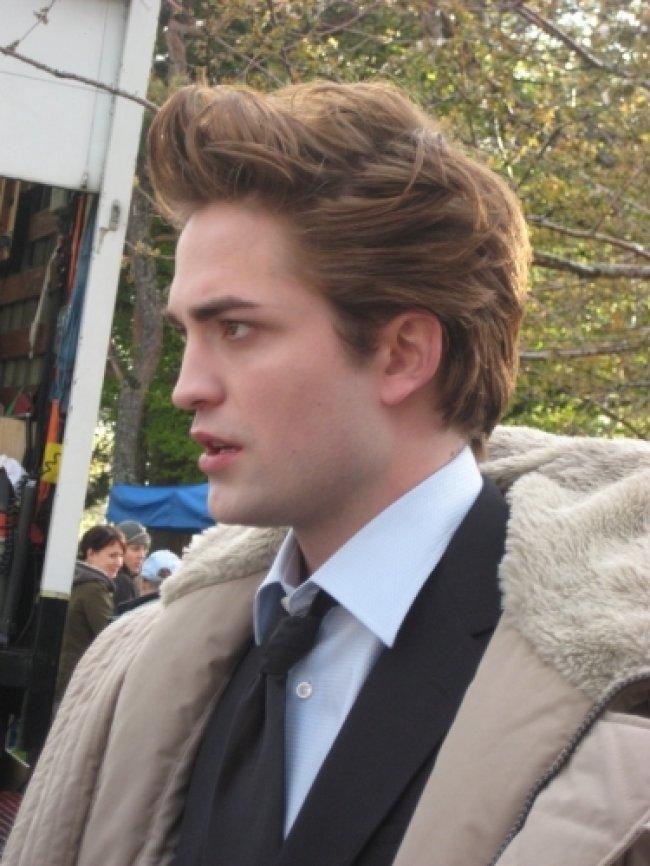 Twilight Fascination : De nouvelles photos sur le tout premier tournage - Très sérieux pendant le tournage de fascination