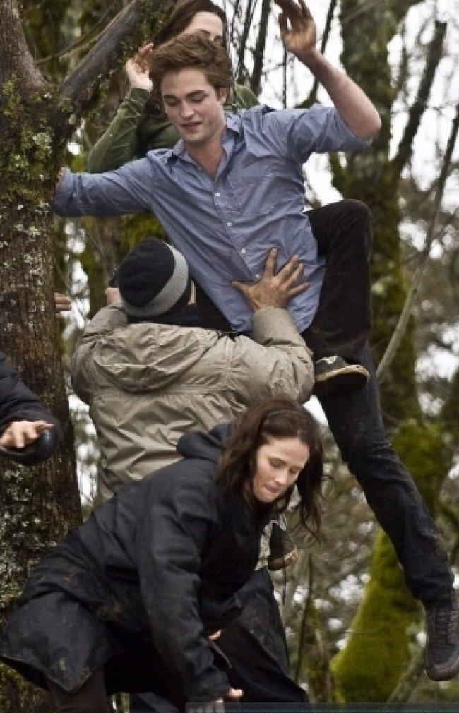 Twilight Fascination : De nouvelles photos sur le tout premier tournage - Accrochez-vous!
