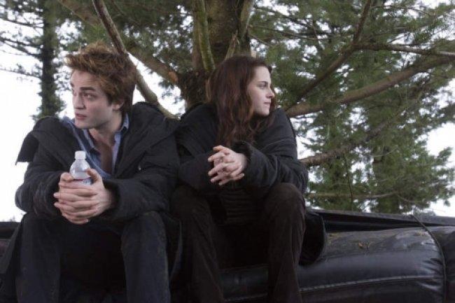 Twilight Fascination : De nouvelles photos sur le tout premier tournage - Pas très intéressante la conversation...
