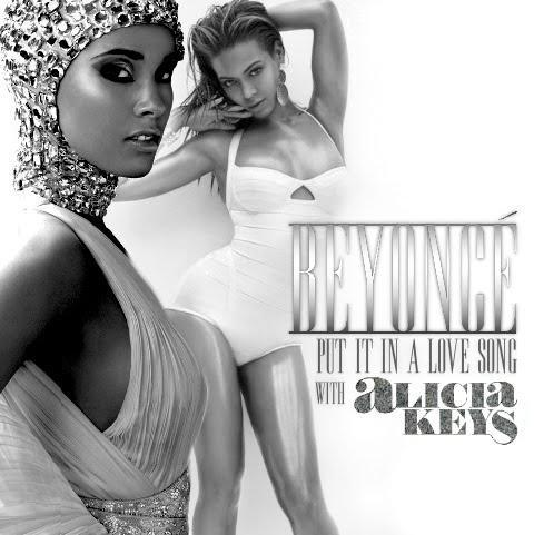 Alicia Keys et Beyoncé en duo ... Put it in a love song !