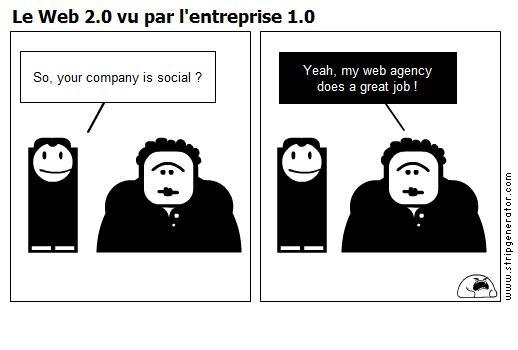 Vers une marque 2.0 ou pour une vraie stratégie sur les médias sociaux