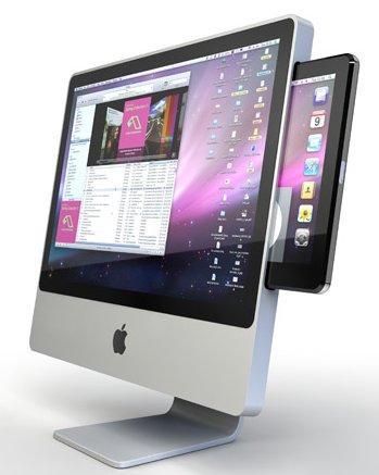 Et si la iSlate était un iMac 22 pouces Multi Touch ?