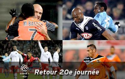 Football - Ligue 1 - Retour sur la 20ème journée