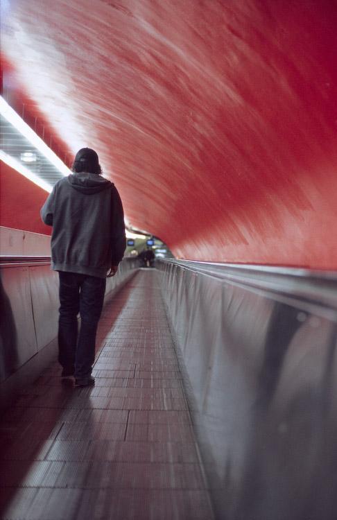 Un petit tour dans le metro