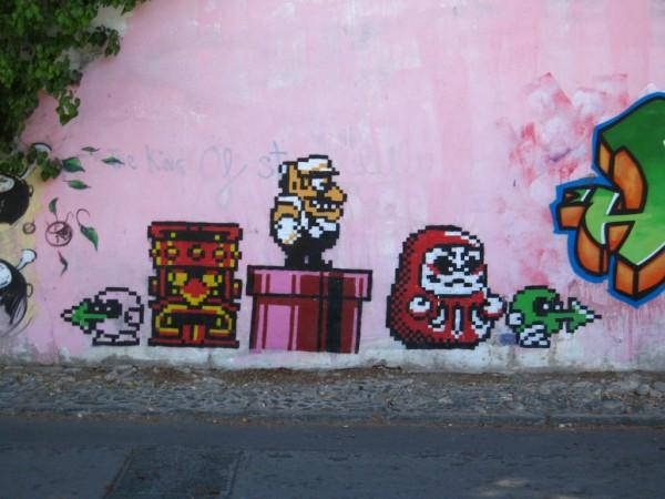 Les geeks se mettent au grafittis
