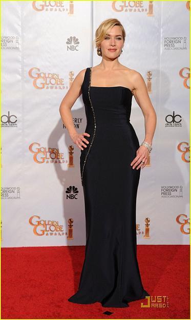 Kate Winslet sublime au Golden Globe Awards 2010