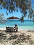 Phare Amédée : Un îlot dans le lagon calédonien