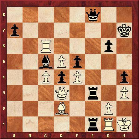 Au 51ème coup de la partie, Kasparov joue Tf7-f3, imaginant un sacrifice de Tour qui lui assurerait au moins la nulle. Mais après g2xf3 Tf1xf3, Karpov défend brillamment et réfute la gaffe de son adversaire.