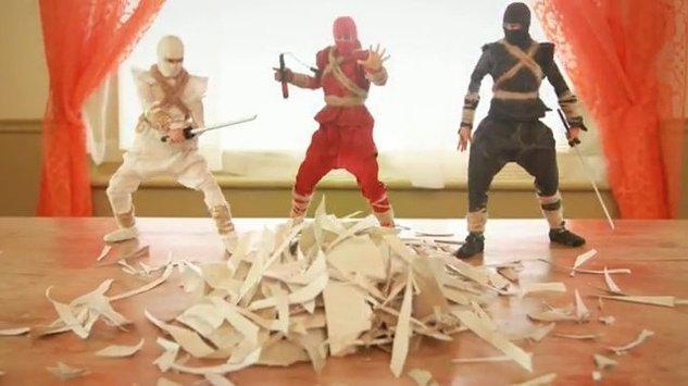L'art du déballage Ninja