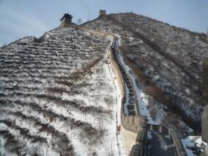 Pékin sous la neige