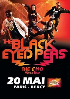 The Black Eyed Peas en mai à Bercy