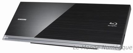 CES 2010 : Quatre nouveaux lecteurs Blu-ray Samsung dont une est compatible Blu-ray 3D