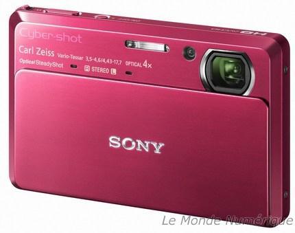 CES 2010 : APN Cybershot TX7, pour filmer en 1080i