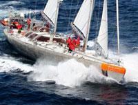 Le bateau de Tara Exploration