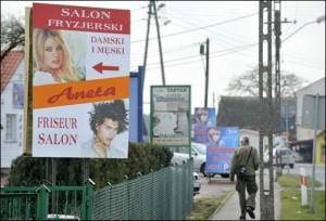 Osinow Dolny, village de 200 habitants concentre 150 coiffeurs dans 35 salons !