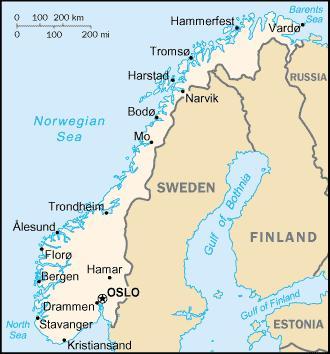 Norvège : mise à jour