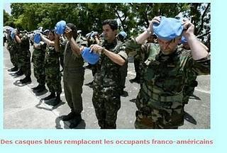 Haiti aide et militarisation du territoire