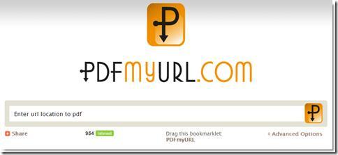 ScreenShot003 Web   Créer un PDF à partir d'une URL
