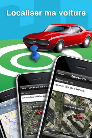 [Application IPA] MEGA Exclusivité Euroiphone : Localiser ma voiture 1.1