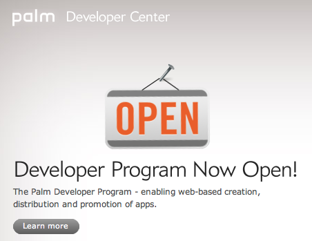 Palm Developer Program