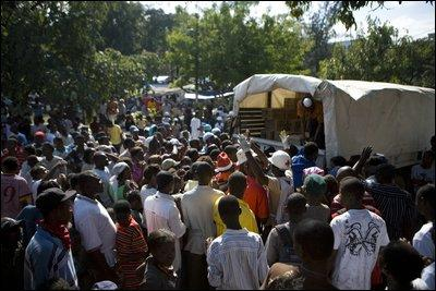Tremblement de terre en Ayiti