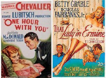 Deux demi-Lubitsch: Une Heure près de toi et La Dame au manteau d'hermine
