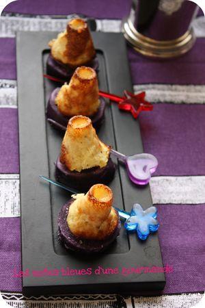 amuse bouche color duo de petites quiches et de pomme de terre vitelotte paperblog. Black Bedroom Furniture Sets. Home Design Ideas