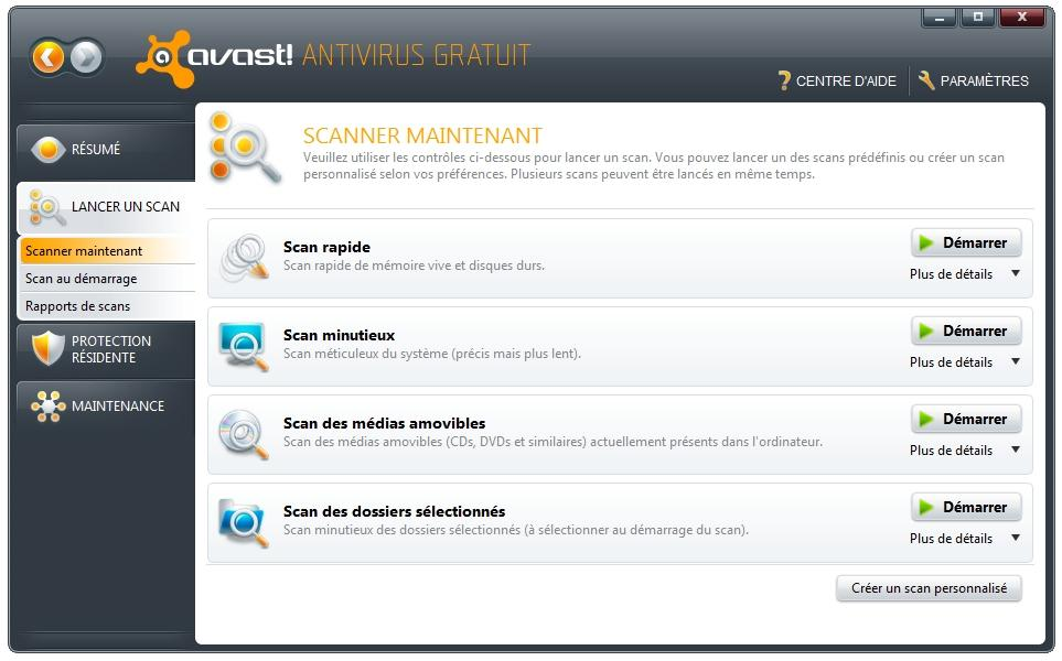 interface avast 5.0