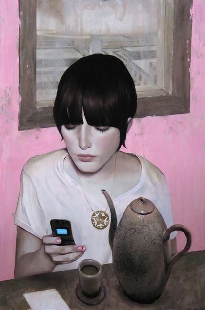 La vie moderne selon Jonathan Viner. C'est un peintre...