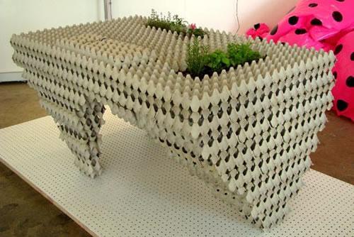 ce qu 39 on peut faire avec des bo tes oeufs chez careli. Black Bedroom Furniture Sets. Home Design Ideas