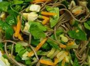 Soba légumes plaisir gourmand janvier