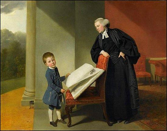 zoffany reverend burroughes son fils ellis