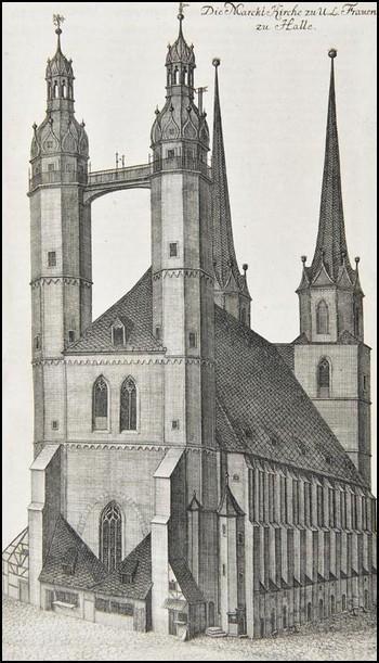 johann david schleuen marktkirche marienkirche halle