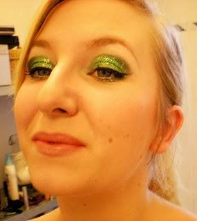 Beauty Look: Absinthe Minded